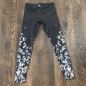 Black butterfly Alo leggings